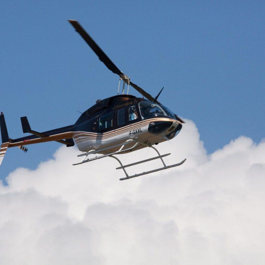 Visite de lignes-Hélicoptère