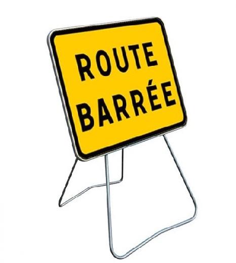Fermeture routes